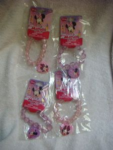 Disney Minnie Mouse bracelets pack of 4